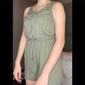 I'm selling this green romper